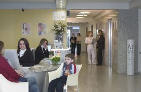 The enterence of Kaskaloglu Eye Clinic